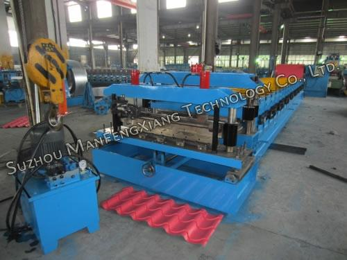 Roofing Steel Tile Roll Forming Machine