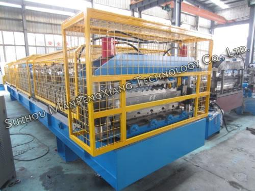 Double Layer Roofing Wall Panel Roll Forming Machine